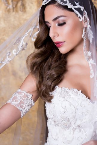 unique bridal veils